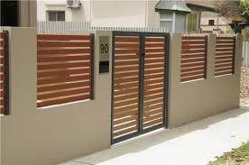 Pin By Desley Wein On House Alterations 2015 House Fence Design Modern Fence Design Fence Gate Design
