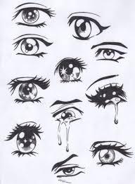 anime eyes to draw by haley martinez