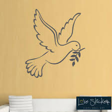 Wall Stickers Dove Bird Love God Family Art Decals Vinyl Home Room Decor Hall Ebay