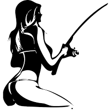 Fishing Woman Vinyl Decal Sticker For Car Or Truck Beauty Temptation Body Stickers Decals Car Stickers Car Styling Sticker For Car Vinyl Decals Stickersdecal Sticker Aliexpress