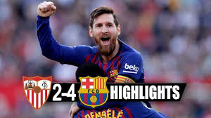 Sevilla vs Barcelona 2-4 • resume ET Les buts HD - YouTube