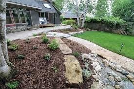 intricate labyrinth stone walkway and