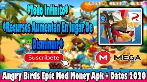 Angry Birds Epic Mod Money *Monedas Infinitas* Apk + Datos