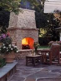 gorgeous outdoor fireplaces and patios