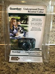 Guardian Gig11 10776 Dog Underground Fence Receiver Collar 8lbs For Sale Online Ebay