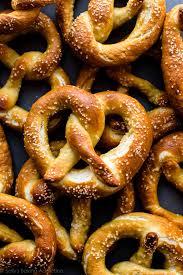 easy homemade soft pretzels video