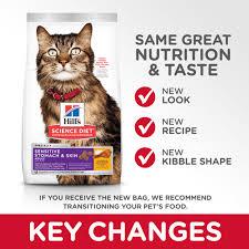 sensitive stomach skin cat food
