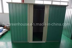 small size pent roof double sliding