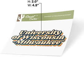 Amazon Com University Of Wisconsin Milwaukee Uwm Panthers Ncaa Vinyl Decal Laptop Water Bottle Car Scrapbook 70 S Name Sticker Arts Crafts Sewing