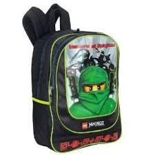Lego 16 Inch Ninjago Backpack Green Ninja - Black: Amazon.co.uk ...