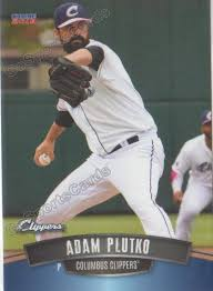 2019 Columbus Clippers Adam Plutko – Go Sports Cards