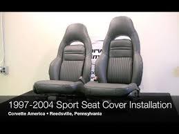 1997 2004 corvette seat cover