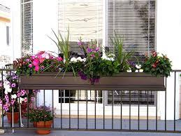 Flower Box Holders For Railings Railing Flower Boxes Balcony Planters Balcony Planter Boxes