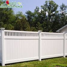 High Standard 6 H 8 W Pvc Plastic Privacy Garden Fence Panels China Pvc Fence Pool Fence Made In China Com