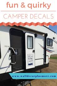Camper Wall Decor Take Family Camping To The Next Level Camper Decor Camping Decor Camper