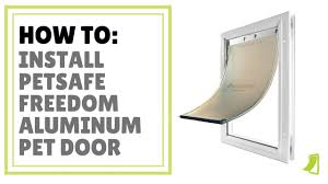 Petsafe Freedom Aluminum Pet Door For Dogs And Cats Of All Sizes