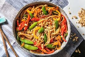 veggie noodle stir fry recipe ofresh