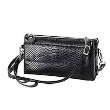 shoulder messenger bag solid color dark