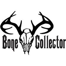 Shop Bone Collector Animal Skull Head Skeleton Picture Art Sticker Vinyl Wall Decal 12 Inch X 24 Inch Black Overstock 17951160