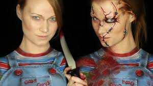 chucky makeup tutorial clothes also