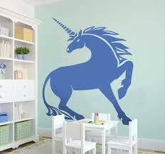 Decorative Unicorn Wall Sticker Tenstickers