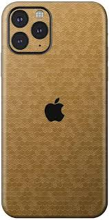 Amazon Com Bloom Skins For Apple Iphone 11 Pro Max Luxury Gold Honeycomb Protective 3m Vinyl Skin Decal Wrap Film Premium Ultra Slim Cover Back Sticker With 3d Texture Made In Usa