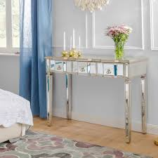 broussard console table mirrored sofa