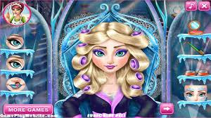 frozen elsa dressup and makeup games
