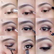 learn how to apply eye makeup cat eye