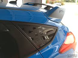 Focus Flag Window Decals 2012 2018 Ford Focus Rs St Tfb Designs