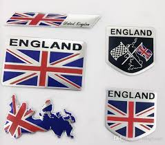 2020 England Flag Union Jack Car Stickers Side Door Labeling Auto Personality Metal Decorative Badge Cover Scratches 3d Stickers 80 50mm 50x50mm From Kdtpv 1 8 Dhgate Com