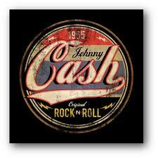 Johnny Cash Rock Roll Decal Vinyl Sticker 2 Stickers 9 Inches Wide For Sale Online Ebay
