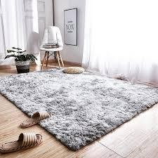 ljus soft fluffy faux fur rug