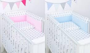 5 piece bedding and per cot set