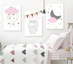 Nursery Posters Nordic Wall Art Canvas Prints Painting Children Room Decorations Ebay