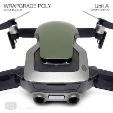 Wrapgrade Poly Skin For Dji Mavic Air Unit A Wrap Decal Mavic Drone Dji