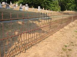 Shady Hollow Cemetery Fence And Gate Pictures For The Home Haunter