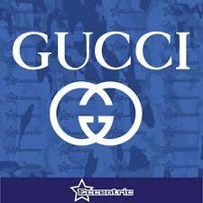 Gucci Decal Fashion Storefront Sticker Laptop Truck Car Window Vinyl Eccentric Mall