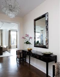 foyer console table and mirror foyer