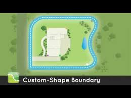 Keep Your Dog Safe With A Custom Shape Wireless Dog Fence Youtube