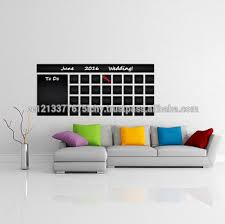 Blackboard Vinyl Wall Decal Calendar With To Do List Chalkboard Erasable Office Mural Month Planner Sticker Drawing Buy Blackboard Vinyl Wall Decal Calendar With To Do List Chalkboard Erasable Office Mural Month