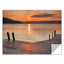 Artwall Another Kekua Sunrise By Steve Ainsworth Photographic Print Removable Wall Decal Wayfair