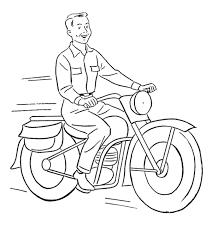 Trọn bộ tranh tô màu xe máy cho bé đẹp và mới nhất 2020
