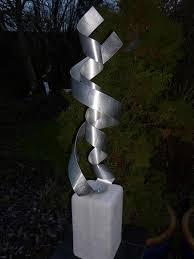 aluminium metal sculpture artist unique