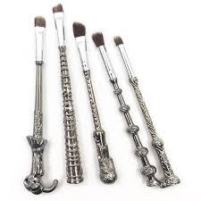 harry potter wand makeup brushes punchit
