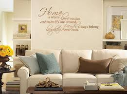 Home Is Where Love Resides Wall Decals Trading Phrases