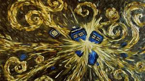 starry night tardis doctor who