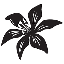 Cool Lily Flower Sticker