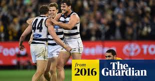 Geelong beat Hawks in classic AFL final after Isaac Smith's post-siren miss  | AFL | The Guardian