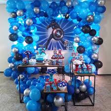 Ideas Para Decorar Fiesta Capitan America Ideas Para Las Fiestas